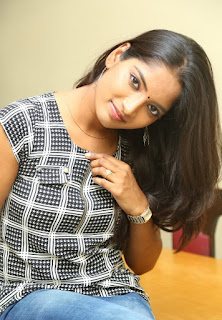 Actress Keerthi  Pictures in Jeans at TLLILKBL Press Meet  5.jpg