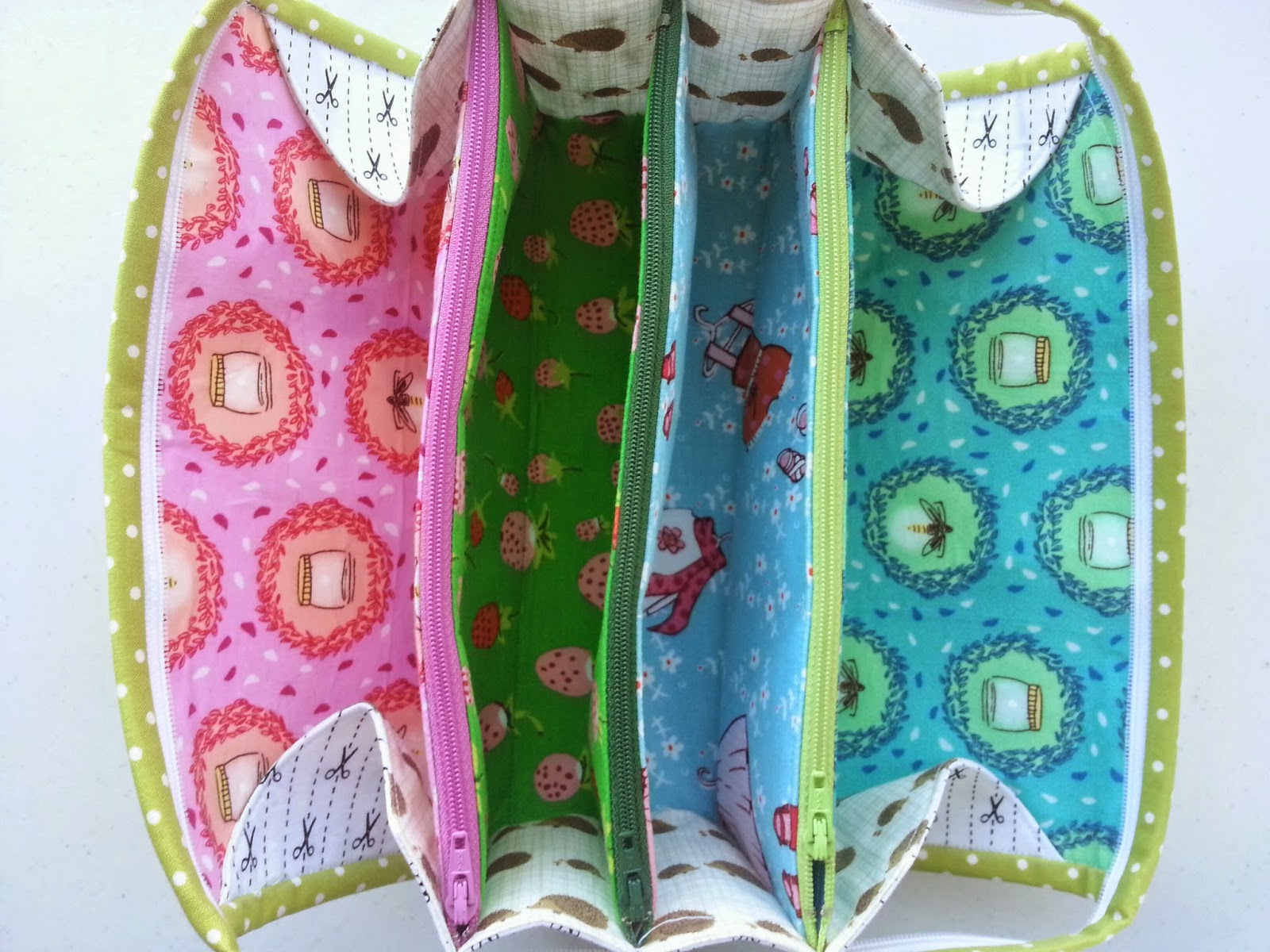 Little Girl Sew Together Bag