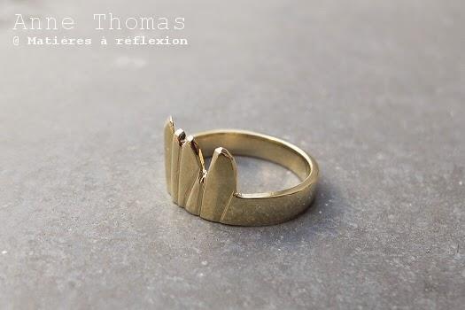 Soldes bijoux Anne Thomas : bagues en solde !