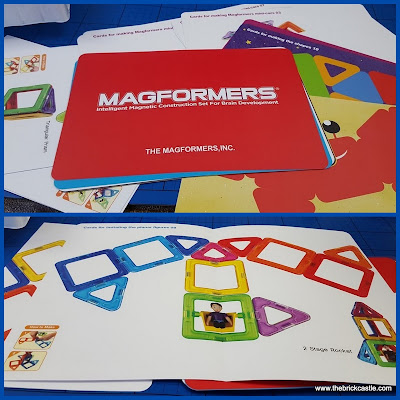 Magformers design cards with ideas and plans