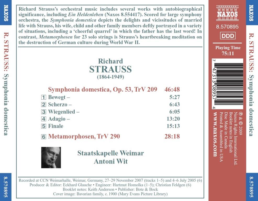 the symphonic life of richard strauss Richard strauss ein heldenleben (a hero's life), op 40 free interview  the opening fanfare from richard strauss's symphonic poem also sprach zarathustra.