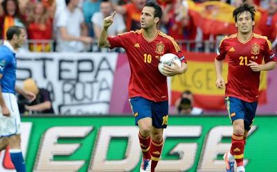 Inilah Skor Akhir Final Euro 2012 Spanyol vs Italia