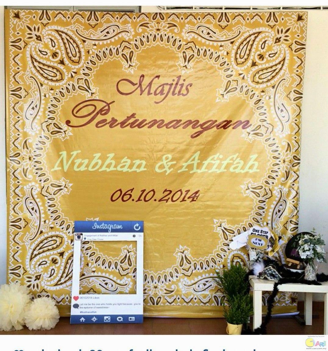 Gambar Majlis Pertunangan Nubhan AF6