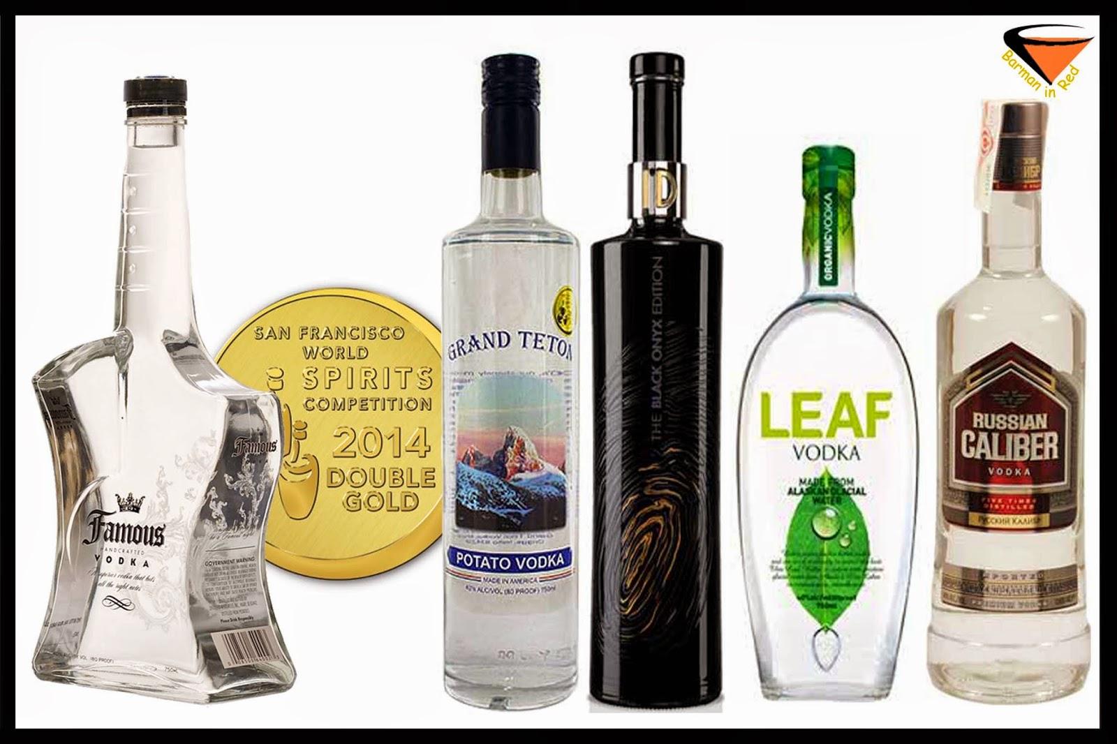 10 mejores vodkas
