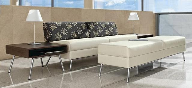 Wind Linear Reception Furniture by Global