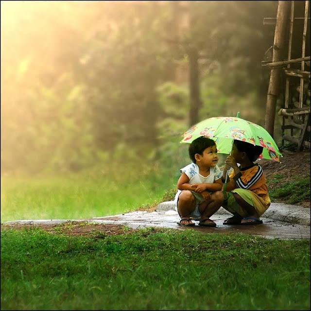 image of love in rain - photo #42