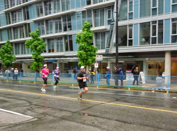 Race for Finish Line Vancouver Marathon 2014