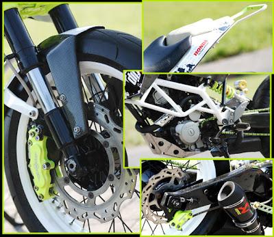 Sporty Modifikasi Honda Mega Pro