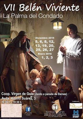 BELÉN VIVIENTE DE LA PALMA DEL CONDADO 2015 - HUELVA