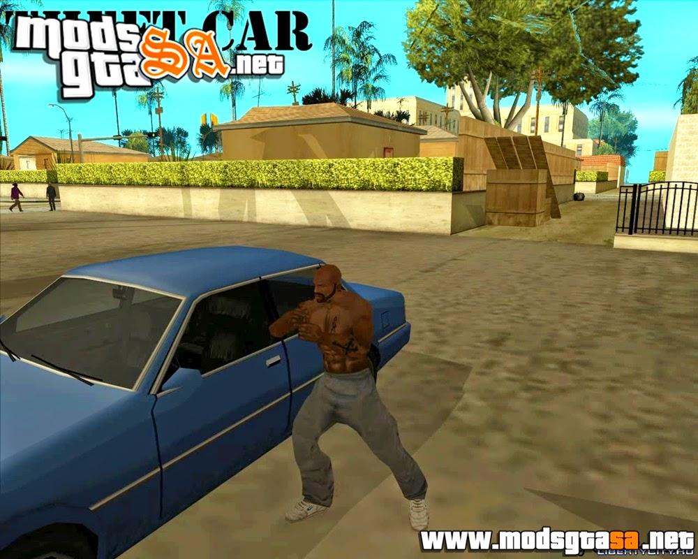 SA - Mod Roubar Carros Estilo GTA IV