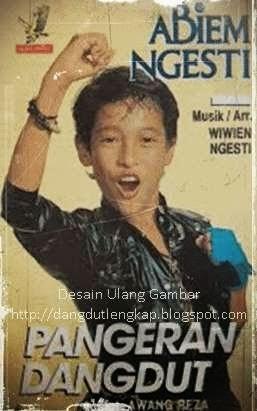 Cover Depan Album Pangeran Dangdut - Abiem Ngesti