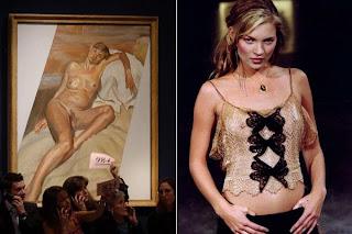 Kate Moss Lucian Freud Christie's Subasta