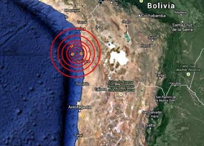 TERREMOTO 6,0 GRADOS SACUDE CHILE