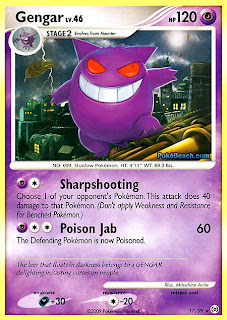 Gengar #17/99 Pokemon Card Arceus Set