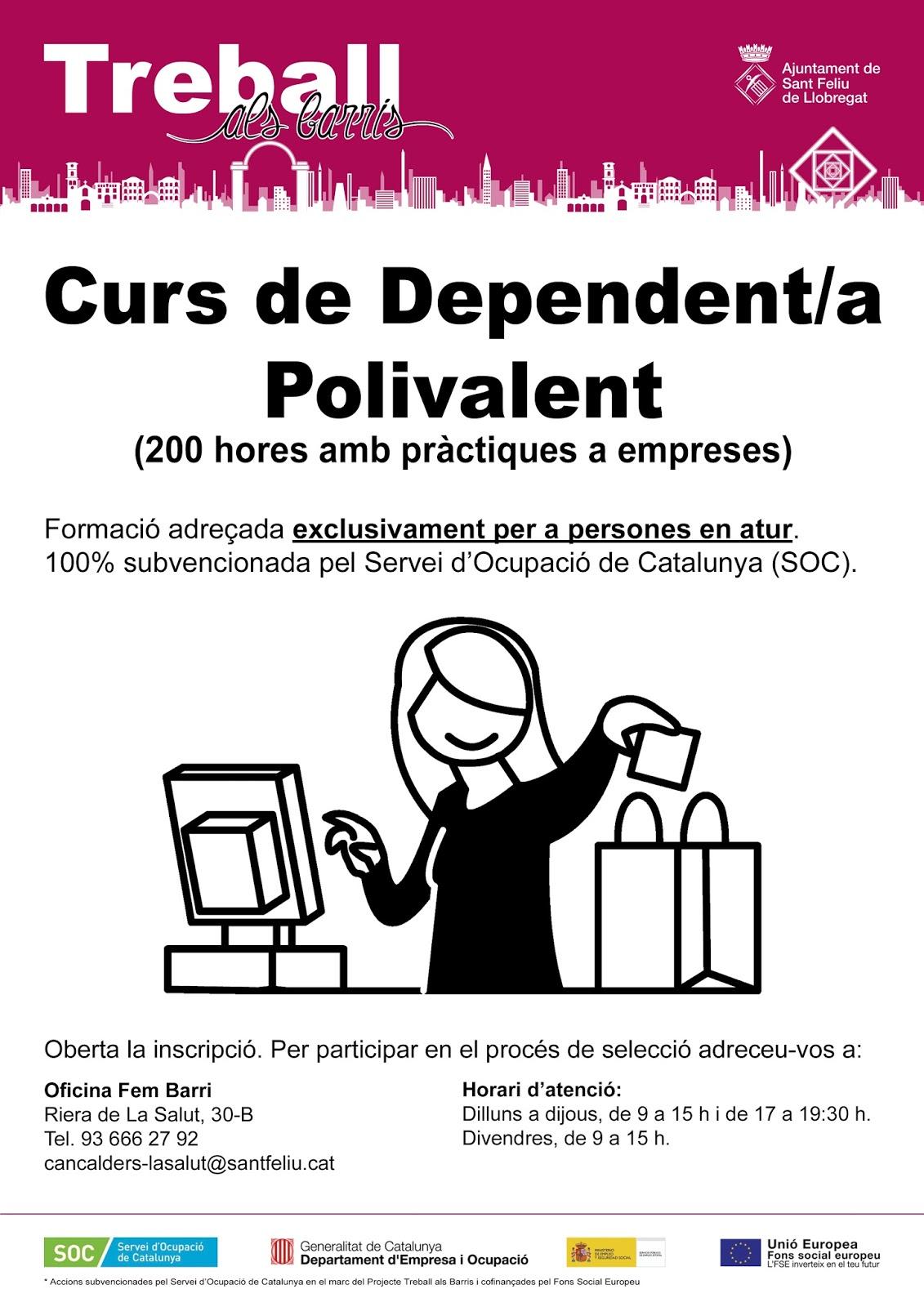 Curs de dependent a polivalent informa 39 t - Soc oficina de treball ...