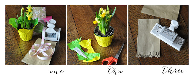 Creative Bag floral packaging tutorial  using paper bags