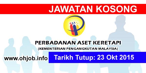 Jawatan Kerja Kosong Perbadanan Aset Keretapi (RAC) logo www.ohjob.info oktober 2015