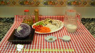 Receta de verduras con bechamel