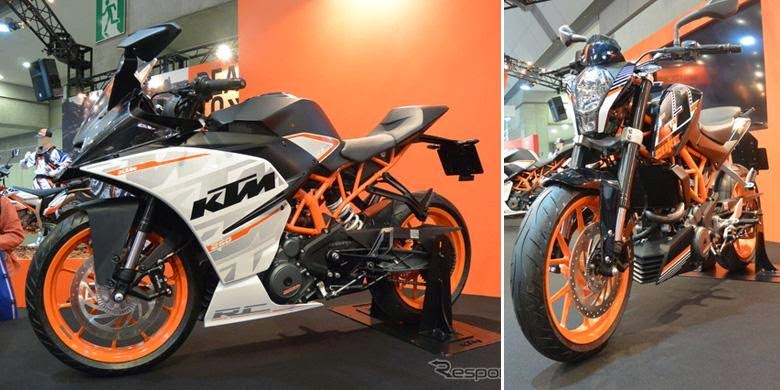 KTM Launches Duke and RC 250 cc