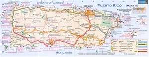 Mapa de distribucion geografica de Puerto Rico