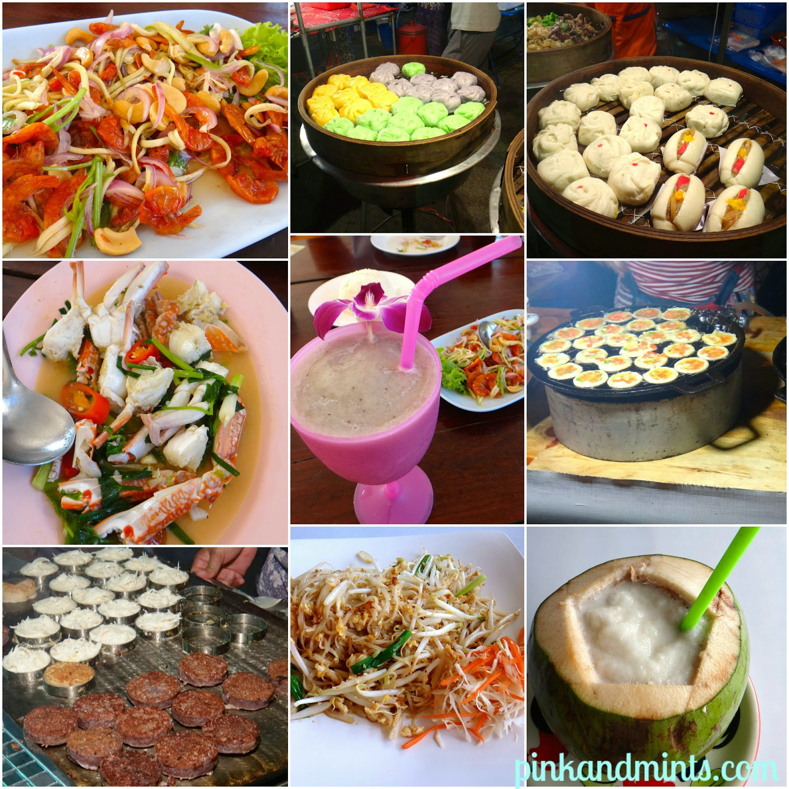 Foods in Krabi