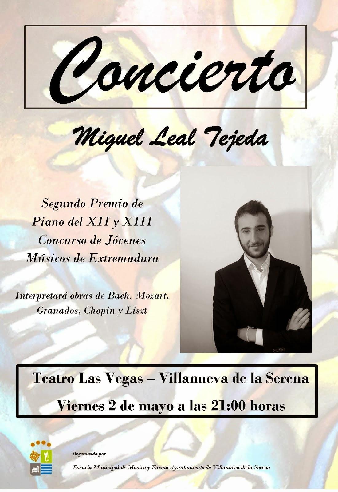 Concierto de Miguel Leal Tejeda