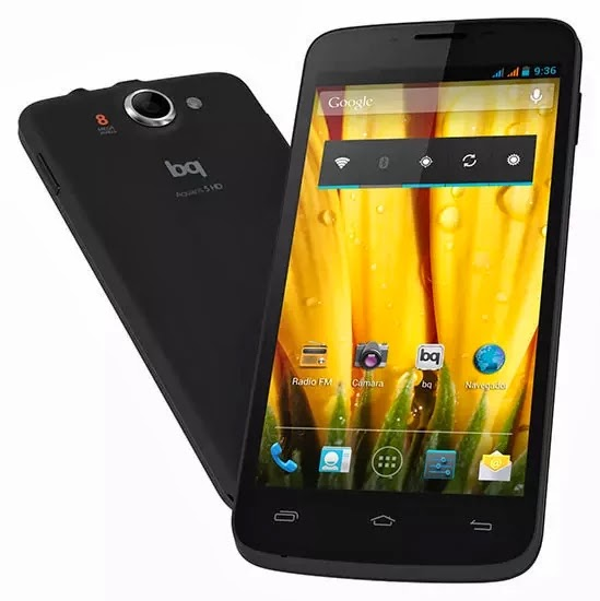 manual bq aquaris 5 HD