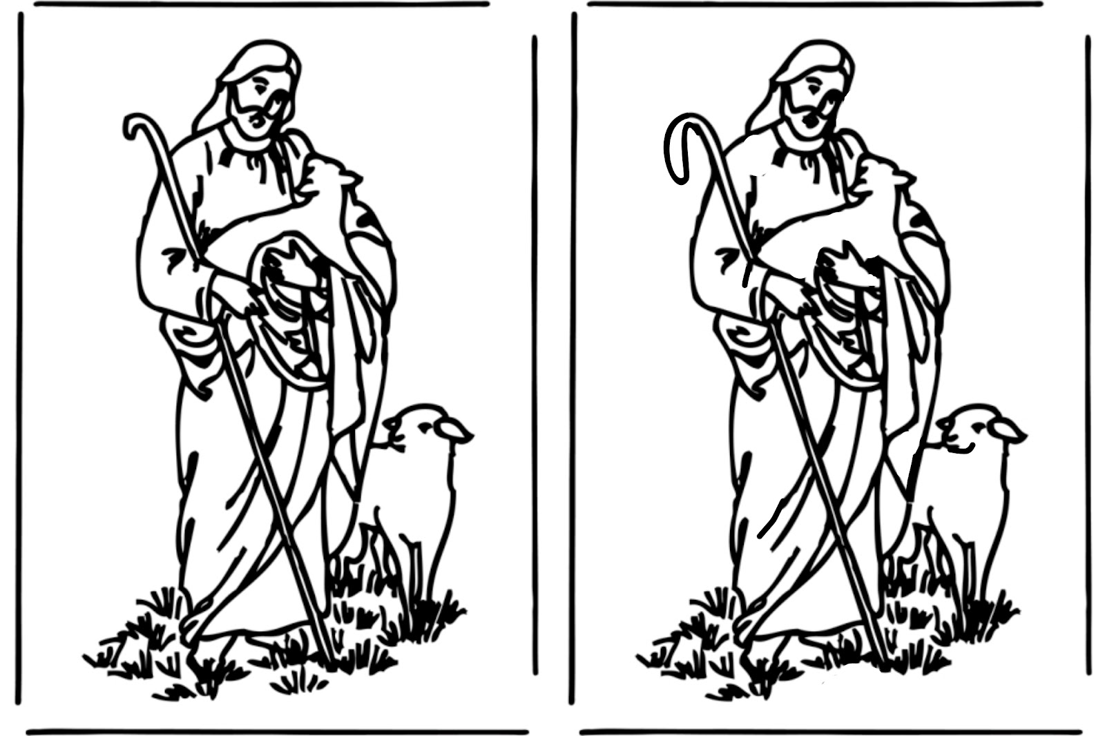 dibujos para colorear e imprimir cristianos