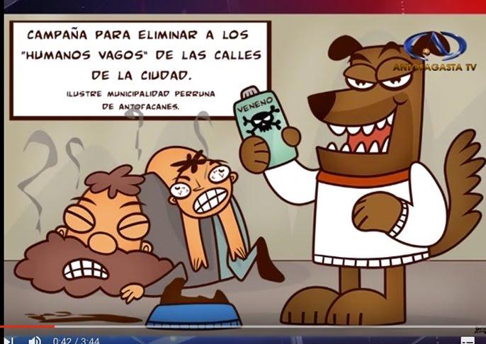 Nota de Humor Gráfico en Antofagasta TV