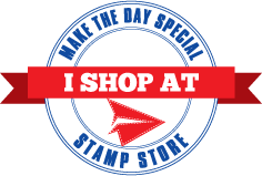 I shop at make the day special badge