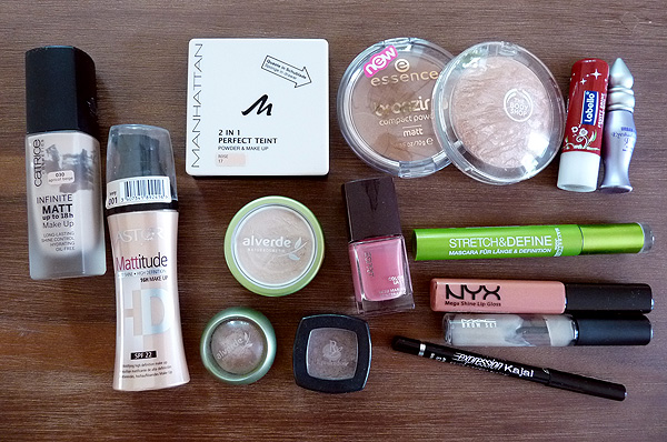 Make-up Favoriten Juni 2011