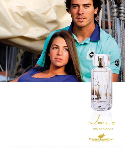 Echantillon gratuit parfum Voile de Pinasse