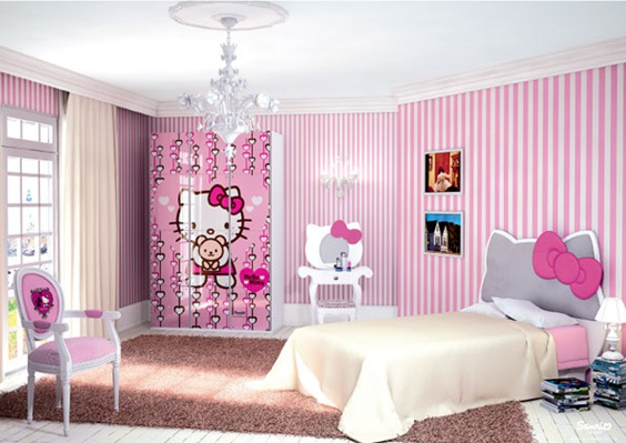 Decoracion Kitty Habitaciones ~ Dormitorios Hello Kitty  Decoraci?n Dormitorios y Habitaciones