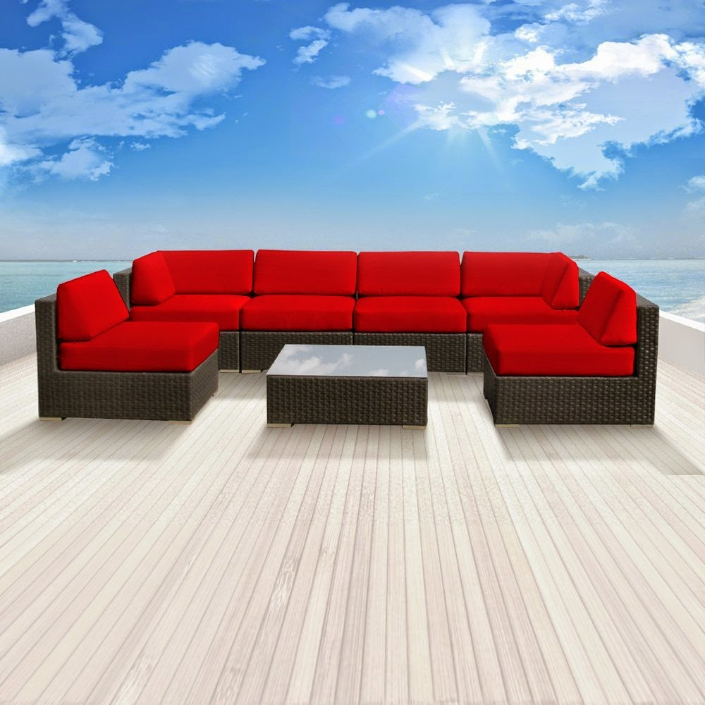 Outdoor couch outdoor sectional couch for Outdoor patio couch set