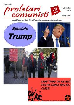 proletari comunisti Speciale Trump