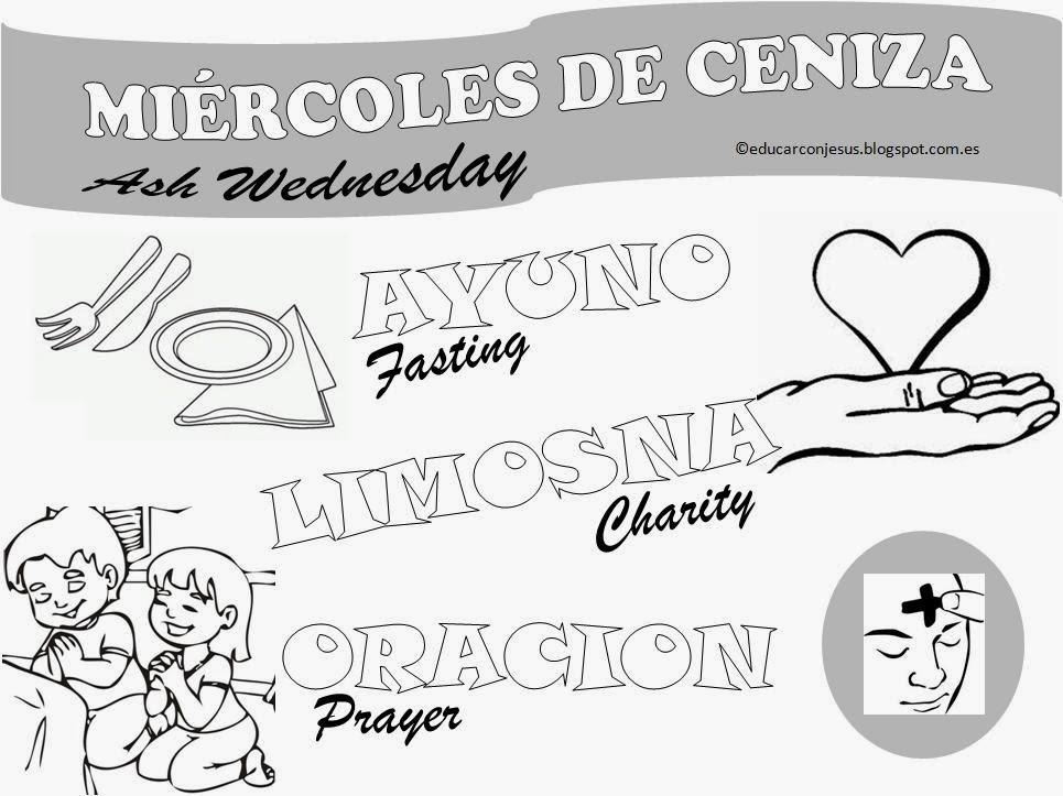 Educar con Jesús: Para recordar el Miércoles de Ceniza
