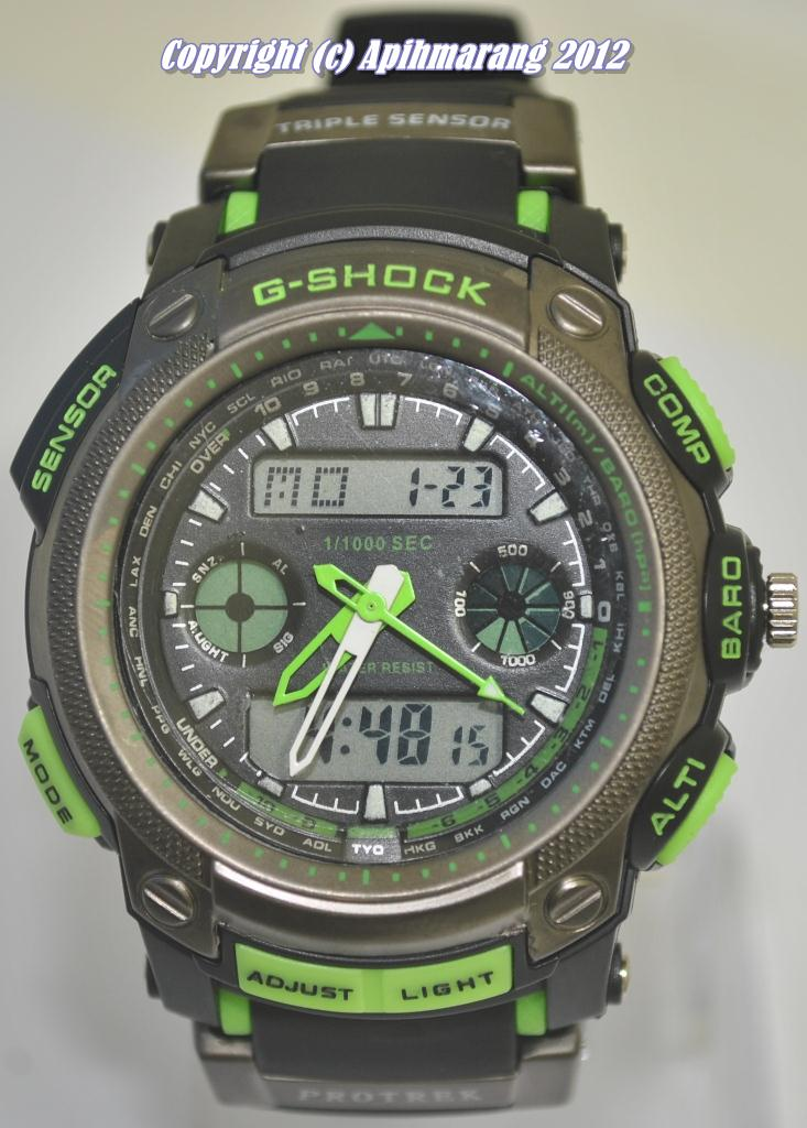 Apihmarang Shop Online Aso Casio G Shock Protrek Green