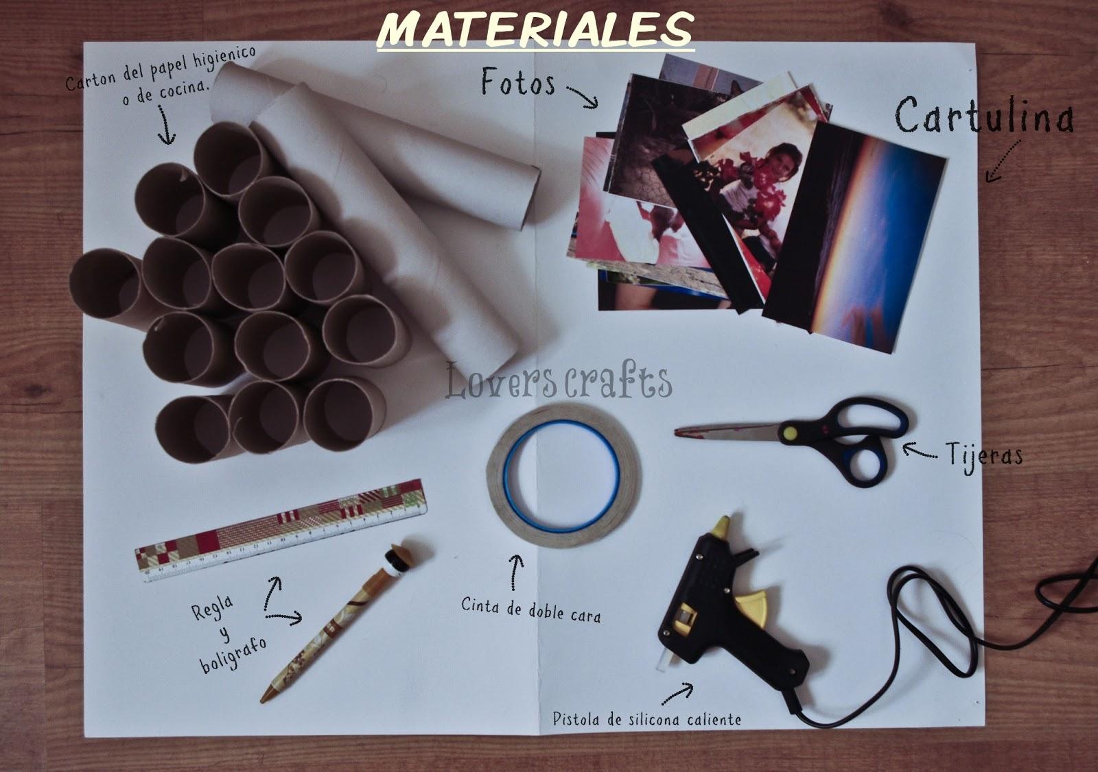 lovers crafts: RECICLANDO EL CARTÓN DEL PAPEL HIGIÉNICO