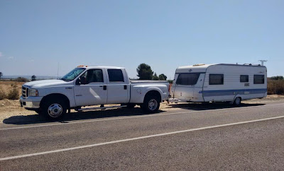 Caravan towing service UK- Spain