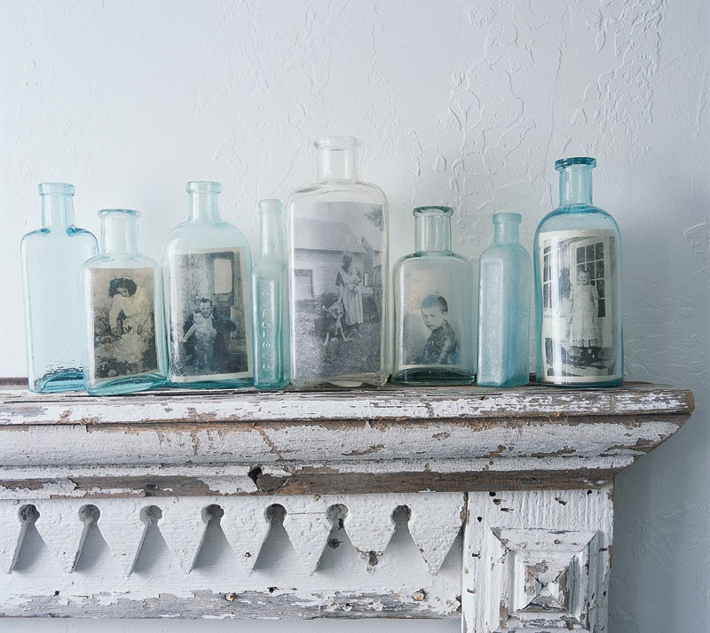 My sweet savannah decorating with vintage bottles - How to decorate old bottles ...