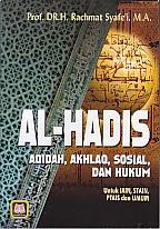 toko buku rahma: buku al hadis, pengarang prof. dr. h. rachman syafe'i, m.a, penerbit pustaka setia