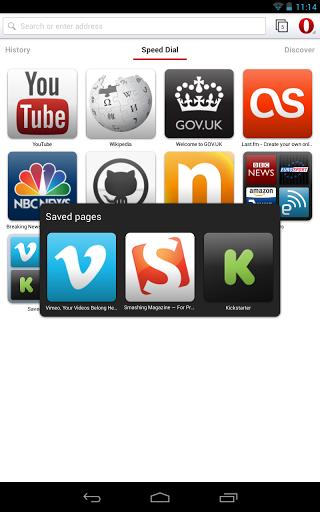 تحميل برنامج التصفح اوبرا لهواتف الاندرويد Opera Android