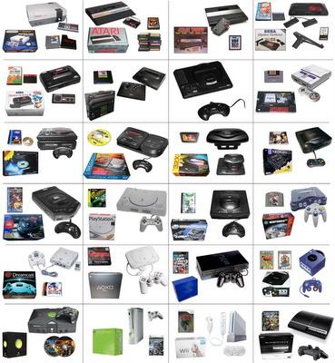 consolas de videojuegos informacion