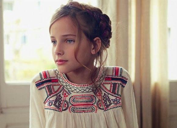 Peinados infantiles 2014 look niños
