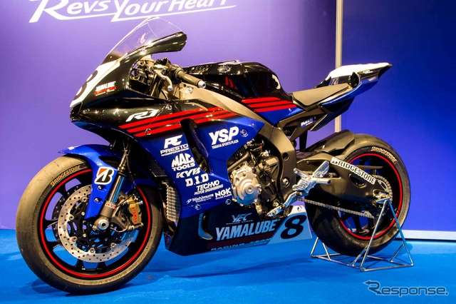 Planet japan blog yamaha yzf r1 all japan yamalube racing for Yamaha racing team