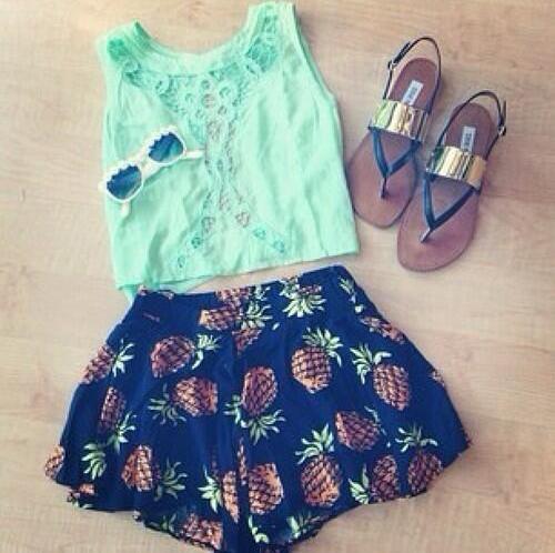 moda chic especial de conjuntos de ropa de verano