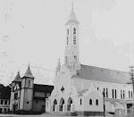 Dois templos na década de 1950