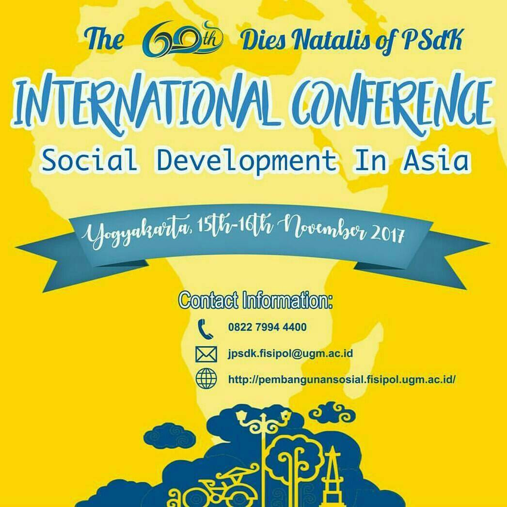 "International Conference ""Social Development in Asia"" 2017 di UGM"