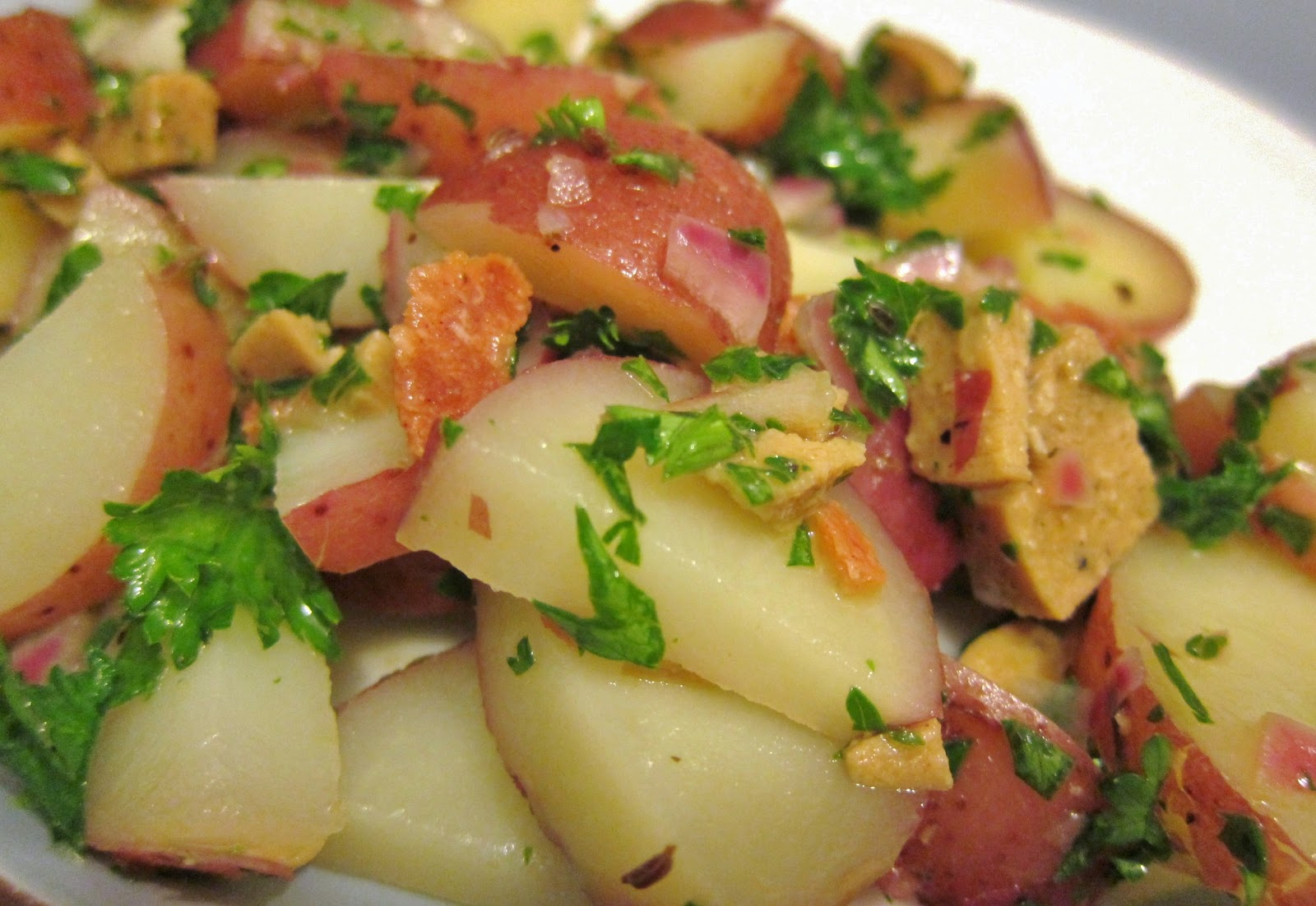 The Vegan Chronicle: Hot German Potato Salad