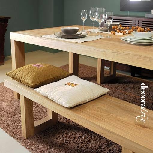 Muebles de comedor por la decoradora experta - Bancos para comedor ...